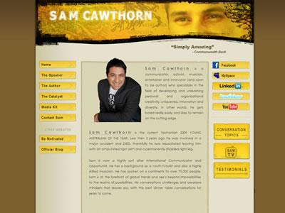 Thumbnail of SamCawthorn.com